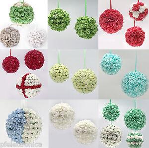 Decorazioni Natalizie Fatte A Mano.Kit Di Palline Natale Fatte A Mano Fiori Tipo Rosa Decorazione Addobbo Natalizio Ebay