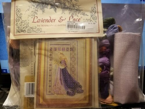 "+ /""LAVENDER /& LACE/"" CROSS STITCH KITS YOU CHOOSE ANGELS"