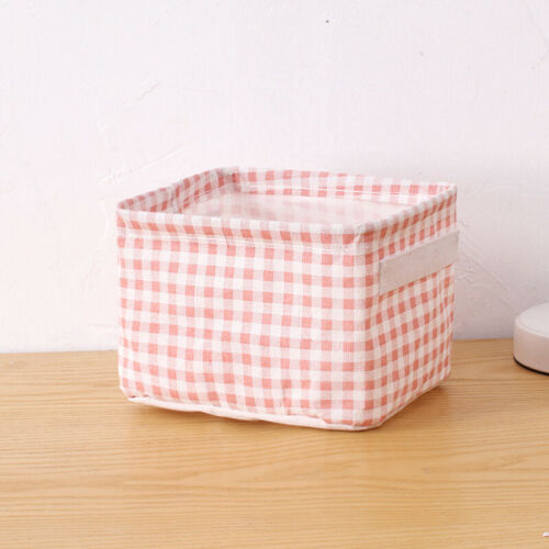 Foldable Fabric Cloth Storage Box Household Organizer Cube Bin Basket Container