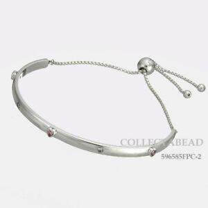 2c54d0570 Image is loading Authentic-Pandora-Silver-Explosion-of-Love-CZ-Bracelet-