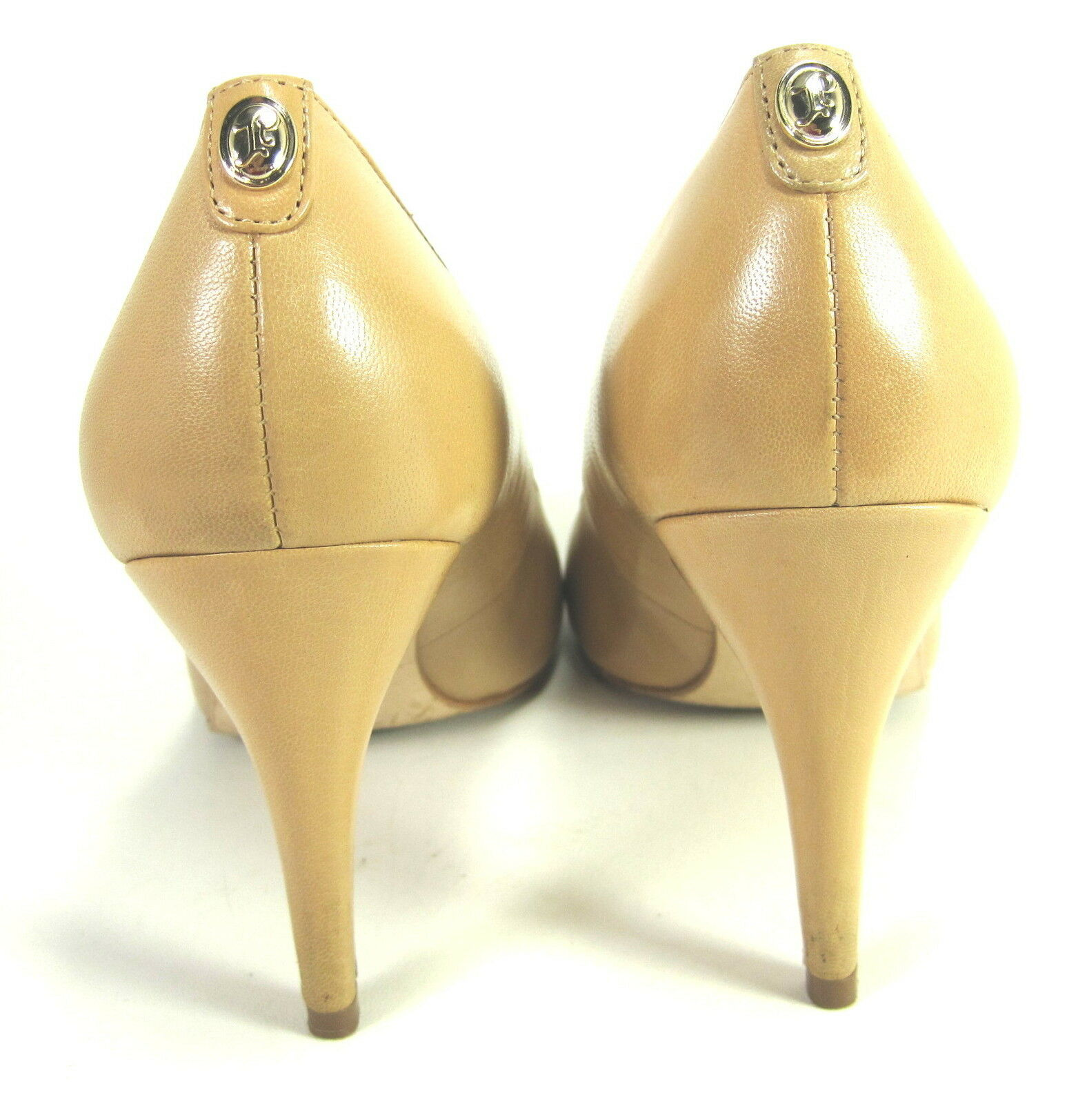 IVANKA TRUMP damen  AMGold AMGold AMGold  PUMPS LIGHT NATURAL LEATHER US Größe 7.5 MEDIUM (B)M 8c7af1