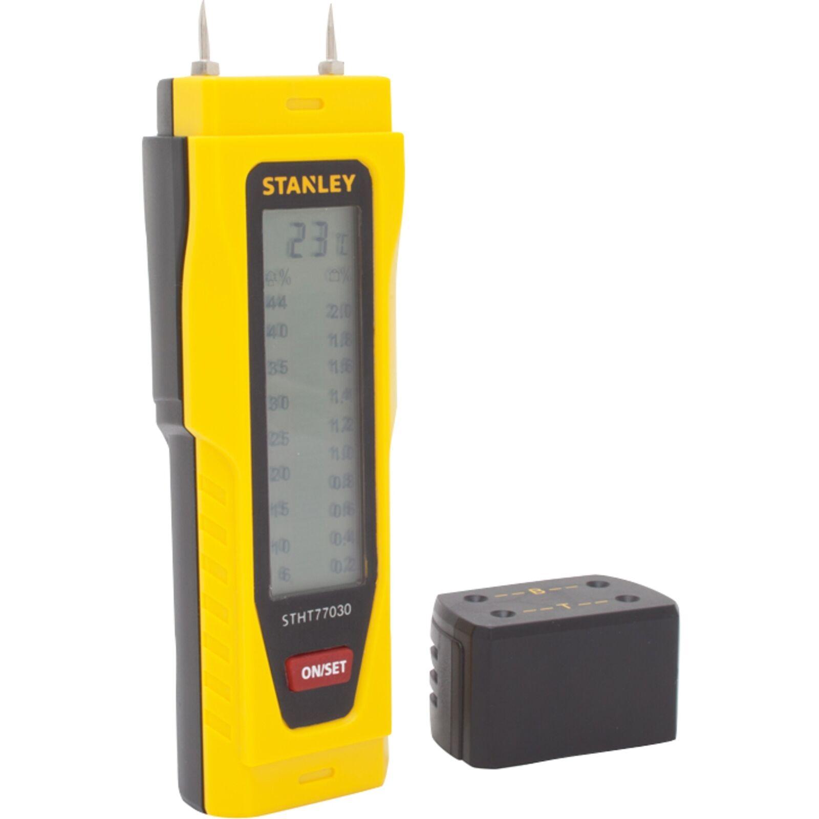 Stanley Feuchtigkeitsmesser (0-77-030), Feuchtemesser, gelb