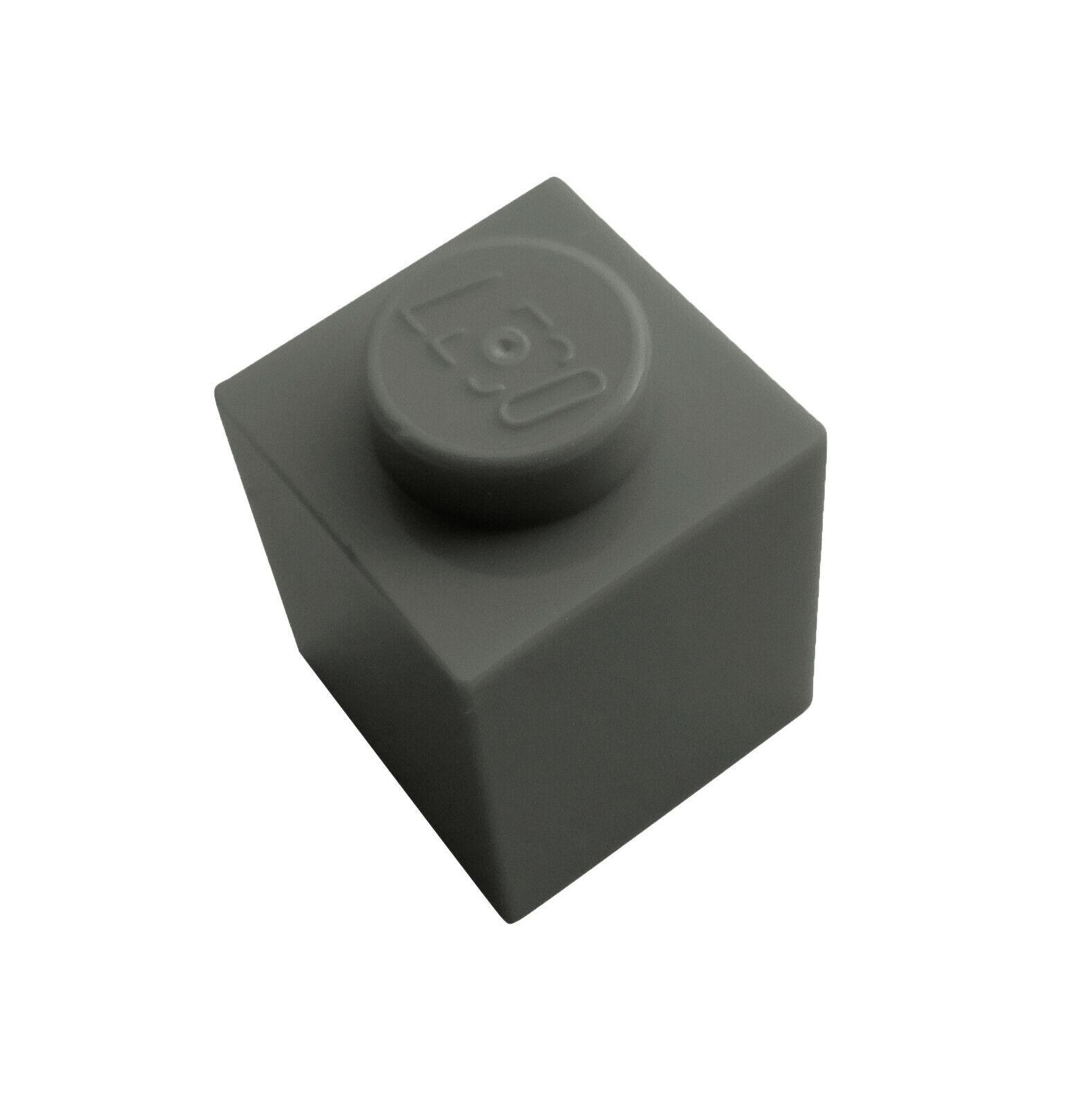 Lego 10x hellgraue Steine 1x1 Stein 3005 Neu light bluish gray brick bricks