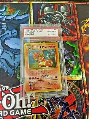 1998 Pokemon Japanese Charizard Holo card #6 CD Promo PSA 10 Gem Mt Mint