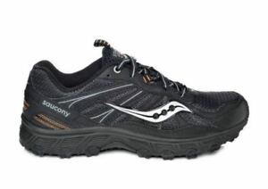 77e56cfa4519 SAUCONY MEN S RUNNING SHOES GRID ECLIPSE TR 2 6142409 16 BLK GRY ORG ...