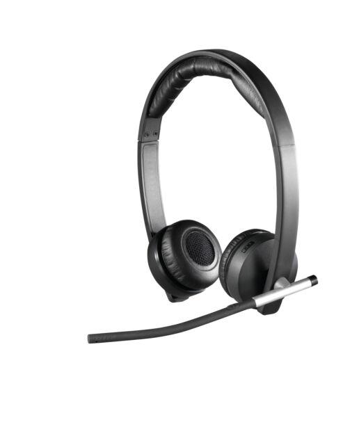 Doppio auricolare Wireless Logitech H820e - nero