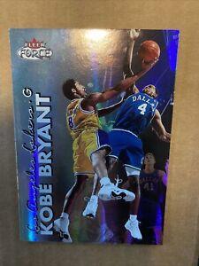 Kobe-Bryant-1999-2000-Fleer-Force-FORCEFIELD-SP-Lakers-Super-RARE-Parallel-Set