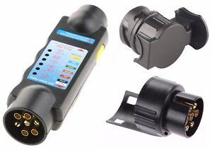 Pin Or 13 Pin Socket And Plug Wiring Trailer Tester Socket Tester ...