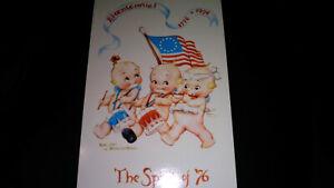 Vintage-Postcard-034-The-Spirit-Of-76-034-Bicentenial-By-Florence-Baker