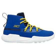 DS New Boys GS Under Armour UA SC 3ZER0 II Basketball Shoes Blue Sz 5Y $85