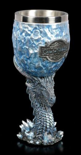 Game of Thrones Calice-Dragon Viserion White WalkerFantasy Cadeau Got