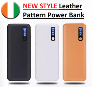 NEW-STYLE-Leather-Pattern-Power-Bank-20000mAh-Portable-Mobile-Charger-Universal