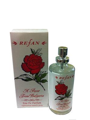 Womens Perfume Refan Rose Eau De Parfum,50 mL,From Bulgaria Rose Women Fragrance