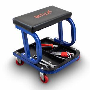 BITUXX-Werkstatthocker-Werkstattsitz-Arbeitshocker-Rollhocker-Arbeitsstuhl-Sitz