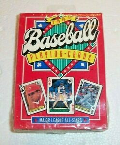Baseball Playing Cards 1991 Major League All Stars US Playing Card Company