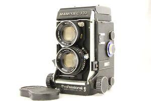 RARE-034-F-034-Mamiya-C330-F-Twin-Lens-Reflex-Sekor-80mm-f-2-8-Blue-Dot-lente-dal-Giappone
