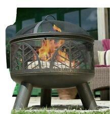 Grey La Hacienda 60544 Large Fire Pit Grill//Barbecue Cover
