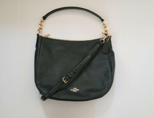 Coach Women's Leather Elle Hobo Shoulder Bag Purse