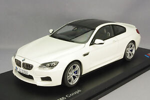 model car 2012 bmw m6 coupe f12 white 1 18 scale 80432218739 ebay. Black Bedroom Furniture Sets. Home Design Ideas