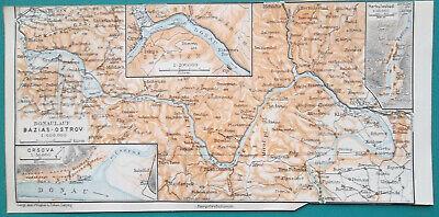 BALKANS NE.Moldavia Bulgaria Wallachia Rumilia Dobruja Romania.ETTLING 1863 map