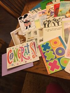 Assorted greeting cards-25 In A Bundle