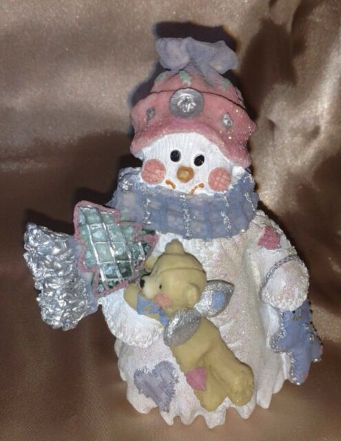 Collectible Ks Collection Pastel Snowman Holiday Christmas Figure