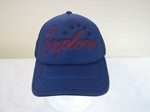 a4b697d3977a0 North Face Womens One Size Americana Trucker Cap Hat - True Navy ...