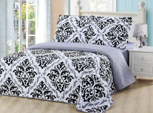 Bedspread Set by Victoriaville 6 Piece Lightweight Microfiber Polyester Set