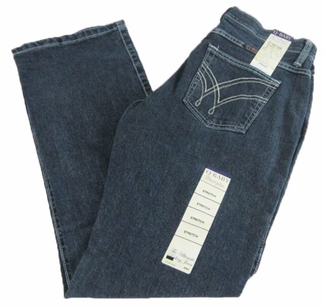 1f640ee1 Womens Wrangler Q-BABY Mid Rise Boot Cut Absolute Star Jeans WRQ20AU 9/10