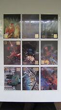 1995 Topps Star Wars Galaxy Series 3 Lucasart Foil Singles L1-7 & L11