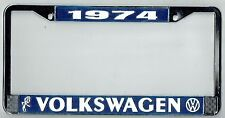 1974 Volkswagen VW Bubblehead Vintage California License Plate Frame BUG BUS T-3