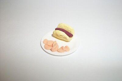 4Pcs//set 1:12 Dollhouse Miniature Food Potato Chips Bottles Dolls Kitchen F qc