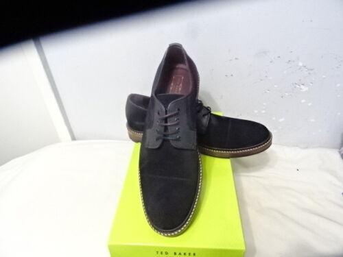 lacets lacets bleu daim en hommes avec Kloude ᄄᄂ pour Chaussures Ted Baker daim foncᄄᆭ en rCQexWBod