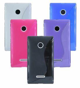 Gel-Silikonschutzhuelle-Tasche-Zubehoer-Huelle-fuer-Microsoft-Lumia-435-COFI