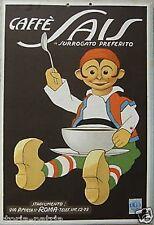 ROMA_BELLA GRAFICA PUBBLICITARIA_CAFFE' SAIS_SURROGATO_ANTICA CROMOLITO STRADA