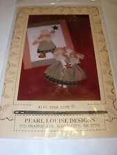 PEARL LOUISE DESIGNS COUNTRY DOLLS WALL QUILT SEWING PATTERN CRAFT FABRIC