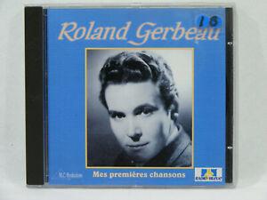 Roland-GERBEAU-Mes-premieres-chanson-CD-Chanson-Francaise-vintage-30-039-s-40-039-s-50-039-s