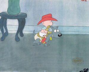 DOUG-FUNNIE-Original-Production-Cel-Cell-Animation-COA-Nicktoons-1990-039-s-Baby