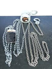 Harrington 12 Ton Cx005 Mini Hand Chain Hoist 1000 Lb Hook Mounted