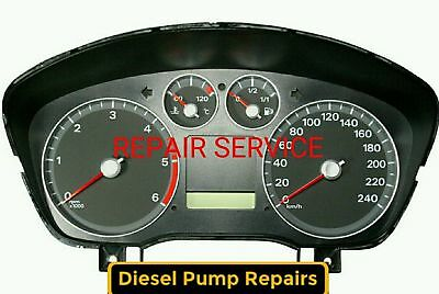 Ford Focus II Instrument Cluster DASH SPEEDO CLOCKS 2004-11 Repair Service