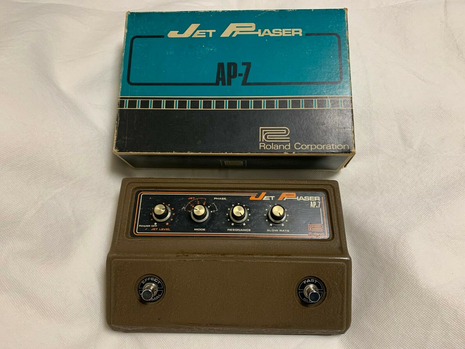 Very Rare  Roland AP-7 Jet Phaser Vintage Guitar Effect Pedal Made in Japan