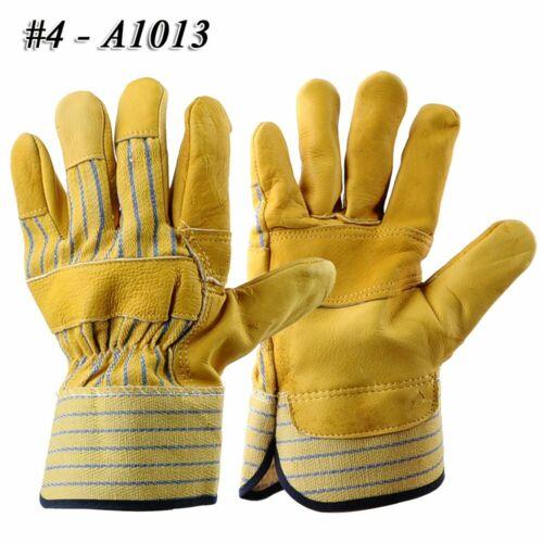 5 Paar Winter Warm Leder Driver Handschuhe Arbeitshandschuhe Montagehandschuhe