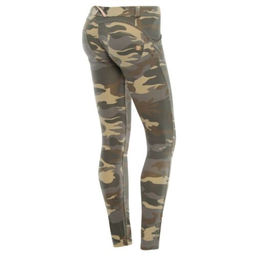 SCONTO 20/% FREDDY WR.UP S M L XL PANTALONE COTONE CAMOUFLAGE PUSH UP WRUP1LF04E