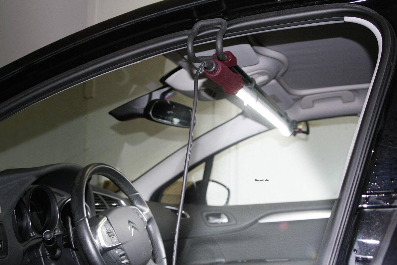 54 LED Foldable  Arbeitsleuchte Motorraumleuchte Akku Werkstattlampe Stablampe