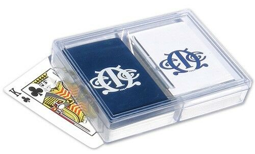 25 - Bridge Size playing card Plastic Box with Predective Sleeve - Qty of 25