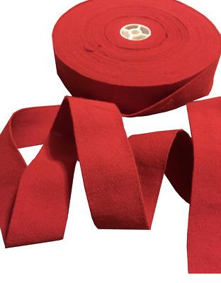 1 Meter Shako Hat Red Trim Border Crafting Ribbon 4cm  Army,military,uniform,