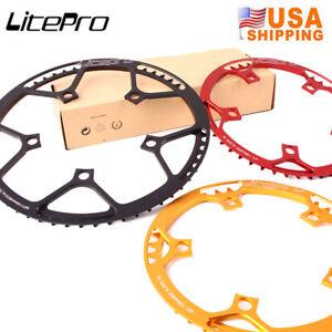 Litepro-130BCD-45-47-53-56-58T-Chainring-Road-Folding-Bike-Sprocket-Chainwheel