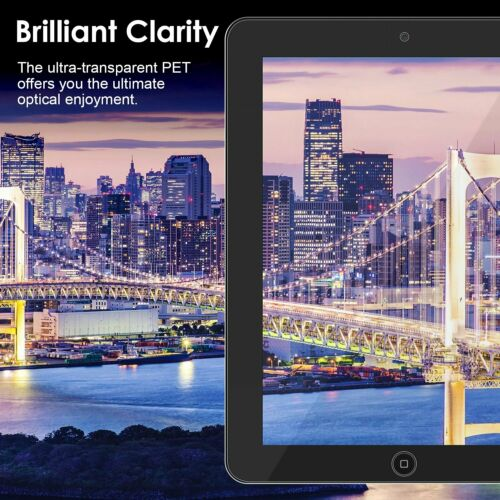 Clear HD Screen Protector Guard Cover For Apple iPad 4 3 /& 2 Gen Cloth App Card