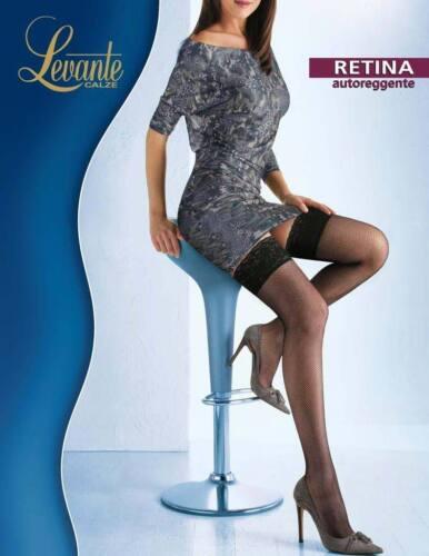 Levante Collant Donna Retina autoreggente Calze Autoreggente a rete