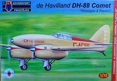 KPM 1//72 KPM0104 de Havilland DH-88 Comet Prototype//Racers Model kit AZ Models